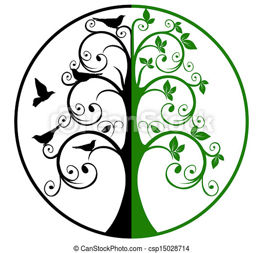 Tree Of Life And Death 15028714 on Plant Life Cycle Book