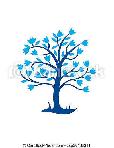 Tree of Life Logo - csp50482311