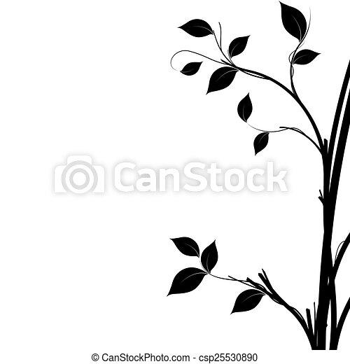 Tree Silhouette - csp25530890