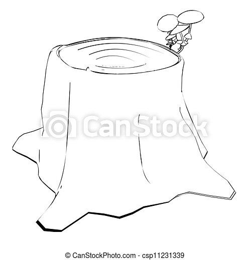 Image result for squirrel in hat on stump drawing | Tattoo ideas ...