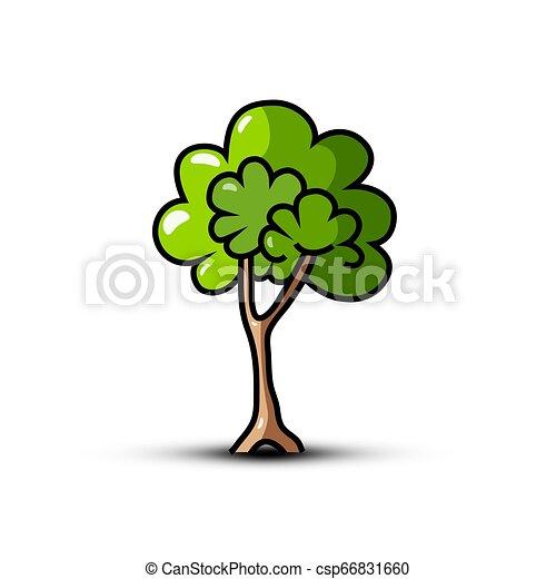 Tree Symbol - Vector Icon - csp66831660