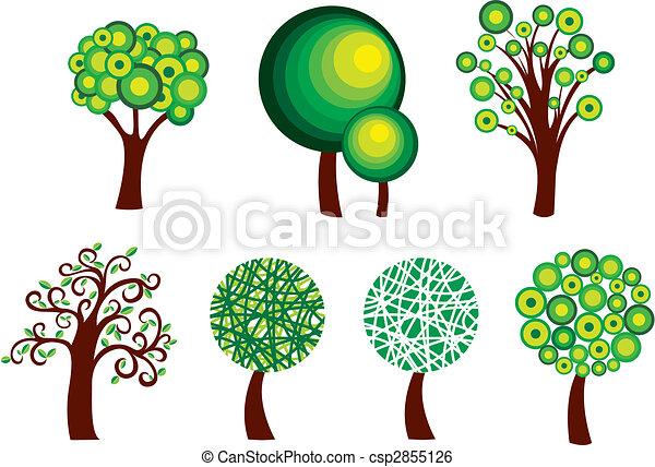 Tree symbols - csp2855126