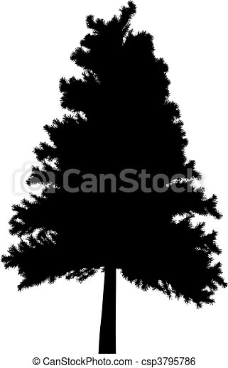 Tree (vector) - csp3795786
