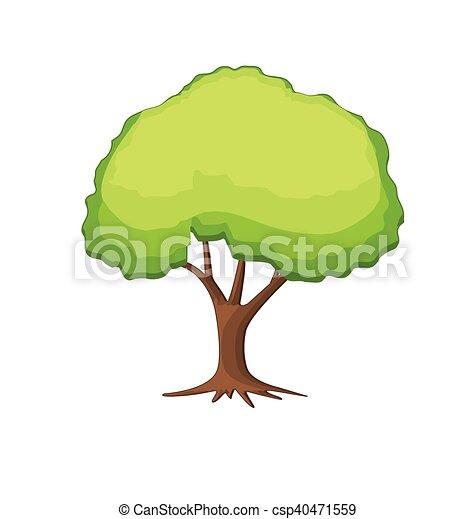 Tree Vector - csp40471559
