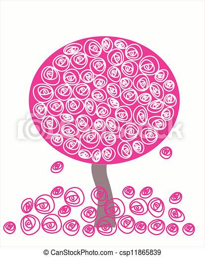 tree vector - csp11865839