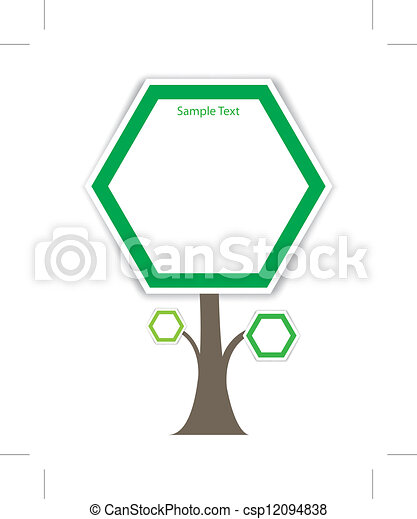 tree vector - csp12094838
