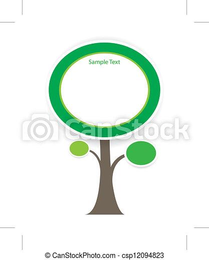 tree vector - csp12094823