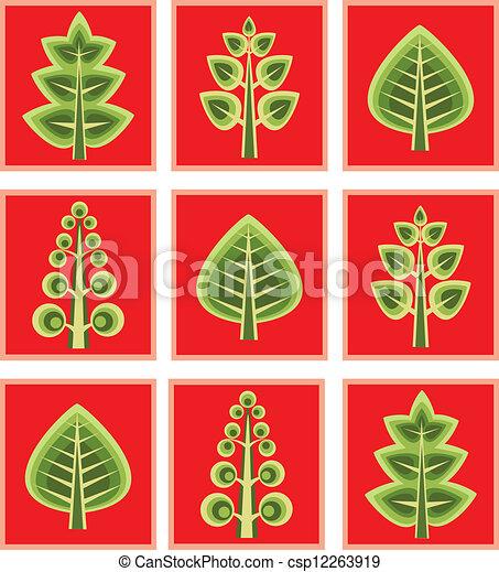 Tree vector - csp12263919