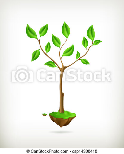 Tree, vector - csp14308418