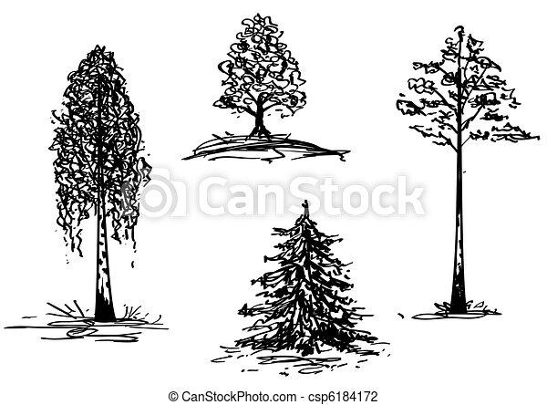 trees - csp6184172