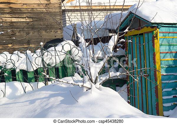Trees in Winter - csp45438280