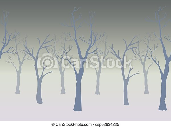 Trees with no leaves - csp52634225