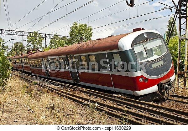 trein, derailment - csp11630229