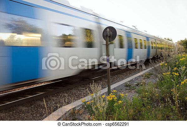 trein, forens - csp6562291