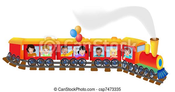 trein - csp7473335