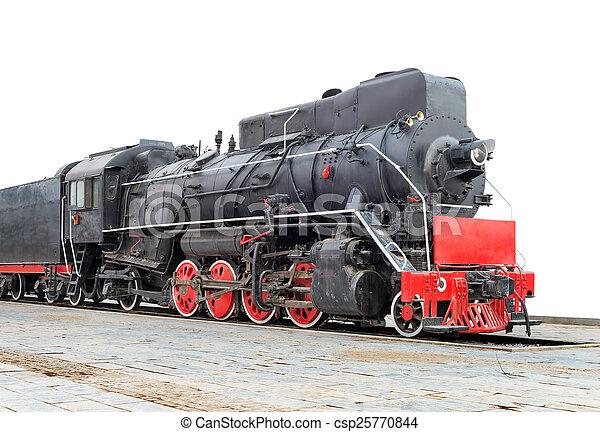 trein, stoom - csp25770844