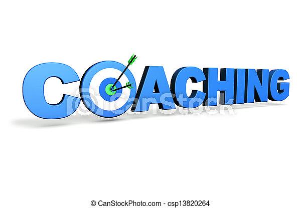 treinar, conceito, alvo - csp13820264