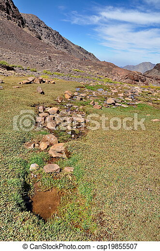 Trekking in the mountains - csp19855507