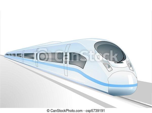 trem expresso - csp5739191