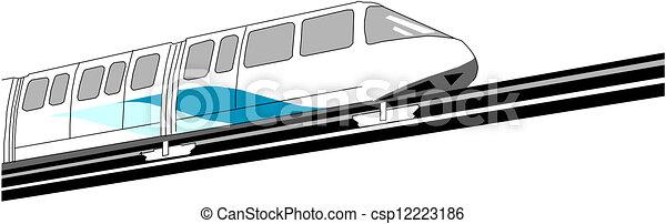 trem expresso - csp12223186