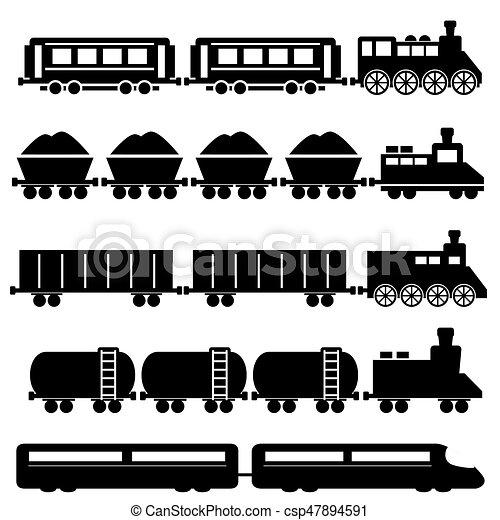 trem, ferrovias - csp47894591