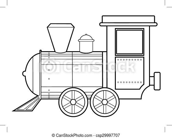 trem, vapor - csp29997707