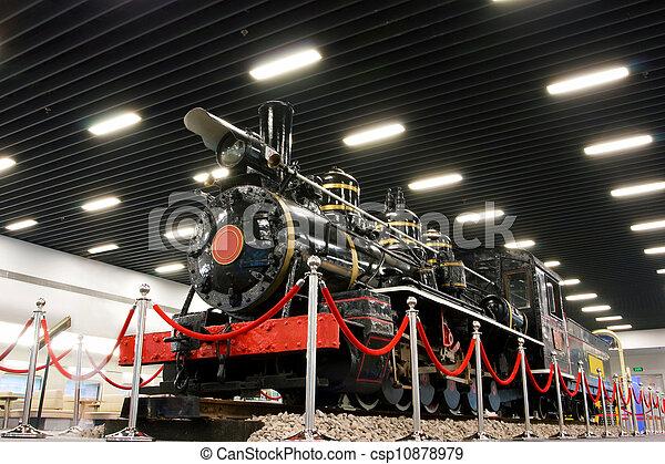 trem, vapor - csp10878979