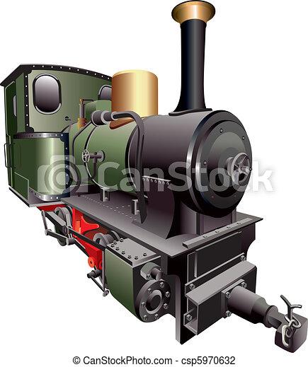 trem, vapor - csp5970632