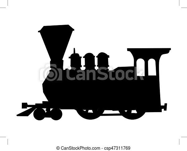 trem, vapor - csp47311769