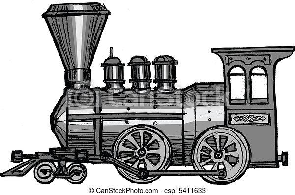 trem, vapor - csp15411633