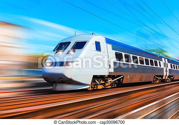 trem velocidade alto, modernos - csp30096700