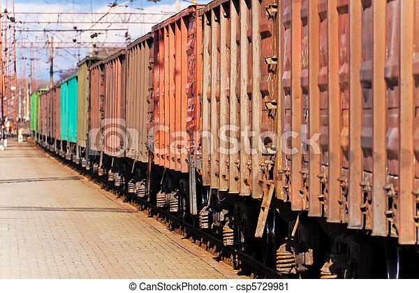 tren, carga - csp5729981