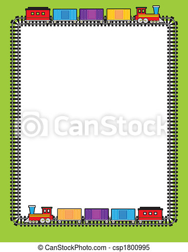 tren, frontera - csp1800995