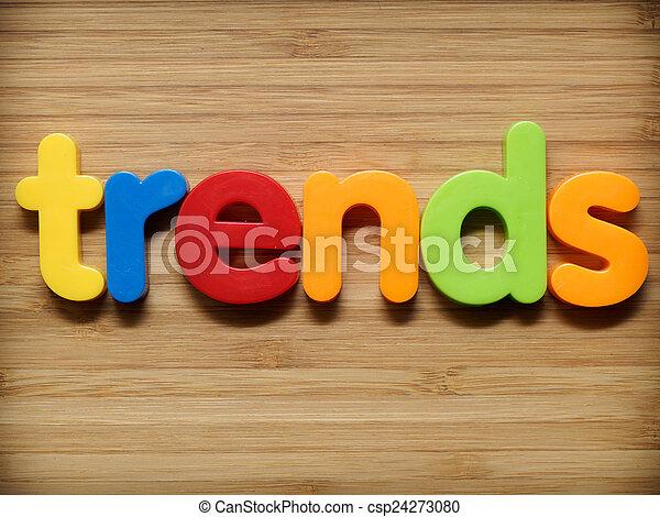 Trends concept - csp24273080