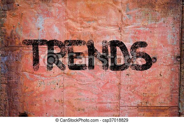 Trends Concept - csp37018829