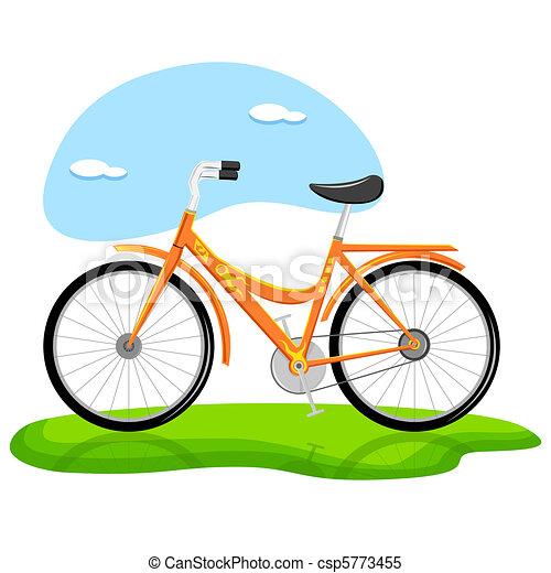 Trendy Bicycle - csp5773455