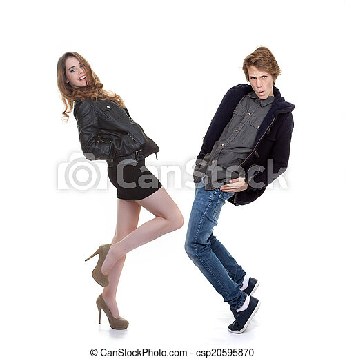 trendy fashion teens - csp20595870
