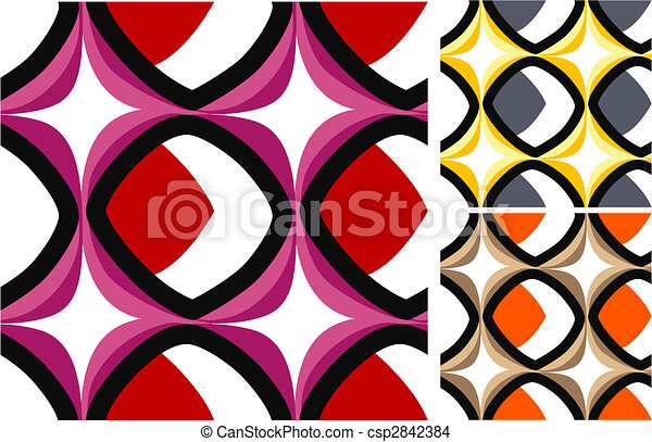 trendy old fashioned wallpaper - csp2842384