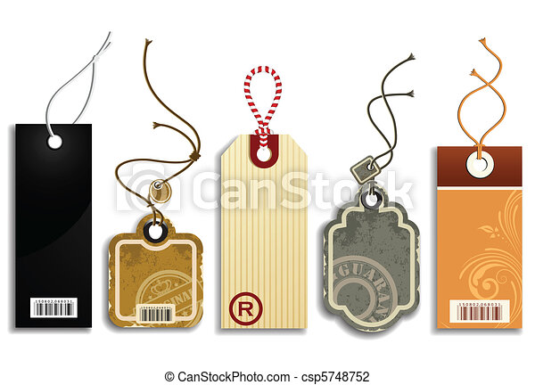 Trendy Price Tags - csp5748752