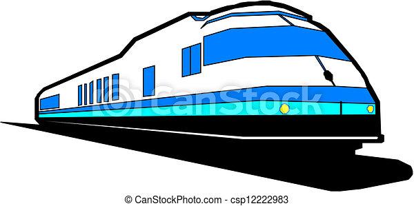treno espresso - csp12222983