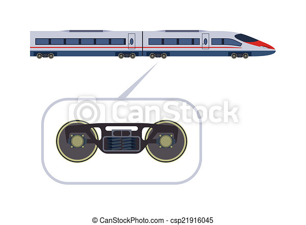 treno passeggero - csp21916045