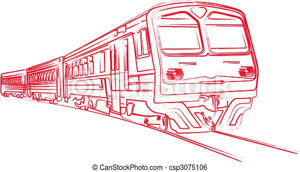 treno - csp3075106