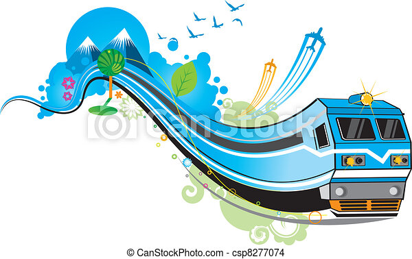 treno - csp8277074