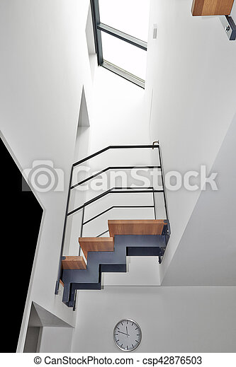 Treppe, Brücke, Modern, Design, Daheim   Csp42876503