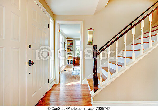 Favorit Treppe, gang, farben, weich. Gang, brauner, boden, hölzern, licht FH23