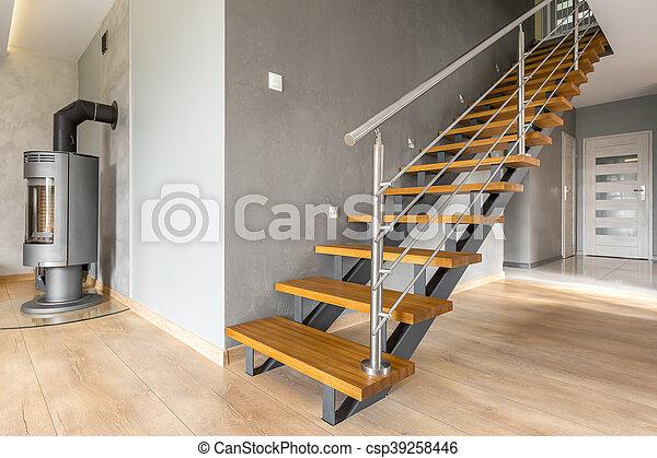 Wohnung Im Erdgeschoss Mit Treppenidee Haus Im Freien Mit