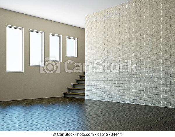 Beliebt Treppenhaus, fenster, zimmer, leerer. Treppenhaus, windows, zimmer HQ44