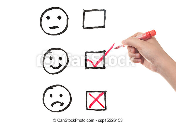 Tres emociones - csp15226153