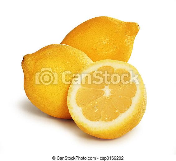 Tres limones - csp0169202
