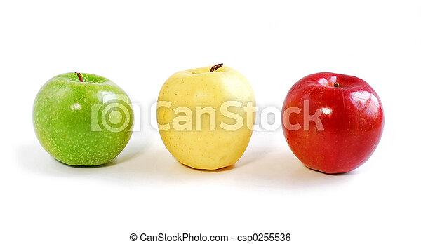 Tres manzanas - csp0255536